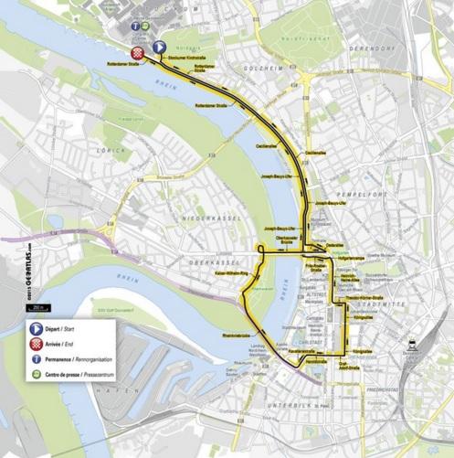 Planuojamas 2017 metų Tour de France pirmasis etapas
