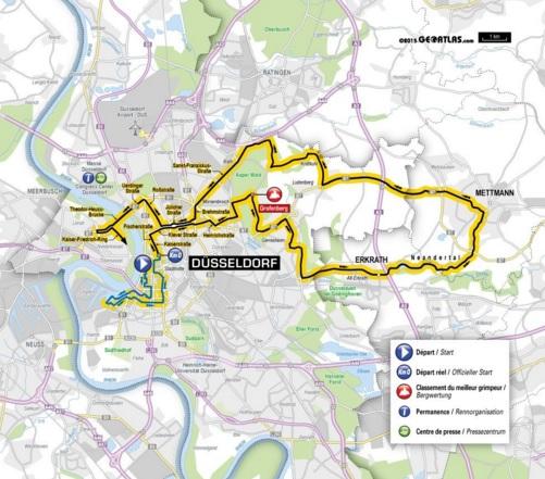 Planuojamas 2017 metų Tour de France antrasis etapas