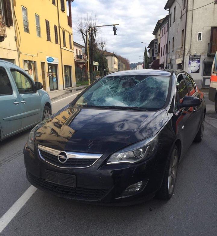 D.Tušlaitę partrenkęs automobilis